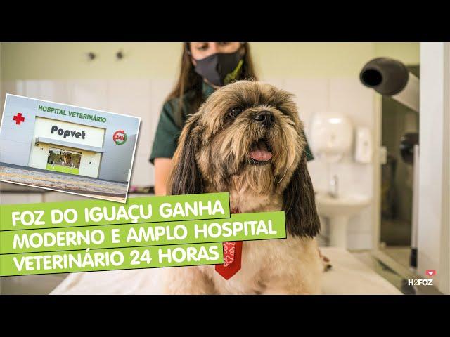 Foz do Iguaçu ganha moderno e amplo hospital veterinário 24 horas