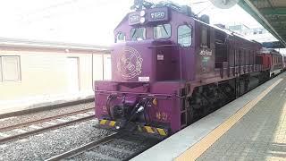 국악와인열차 천안역 발차영상