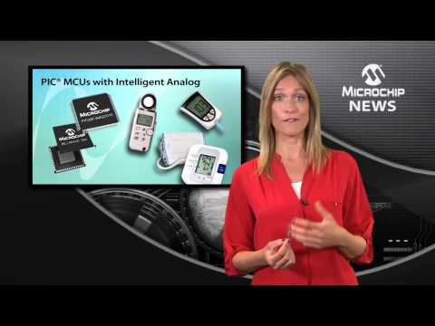 PIC® MCU Integrates 16-bit ADC, 10 Msps ADC, DAC, USB And LCD