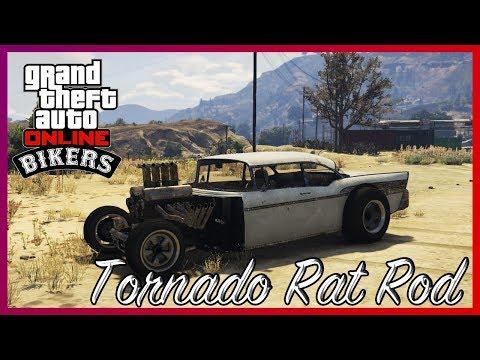 "GTA Online Тест Драйв Шоу ""Колеса Либерти"". Обзор Tornado Rat Rod"