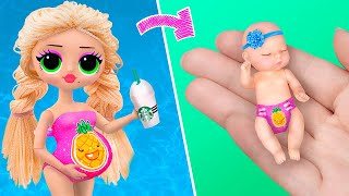14 DIY Baby Doll Hacks and Crafts / Miniature Baby, Toys, Baby Wear and More!