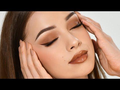 CARAMEL Makeup Tutorial | Fall Inspired Smokey Eye