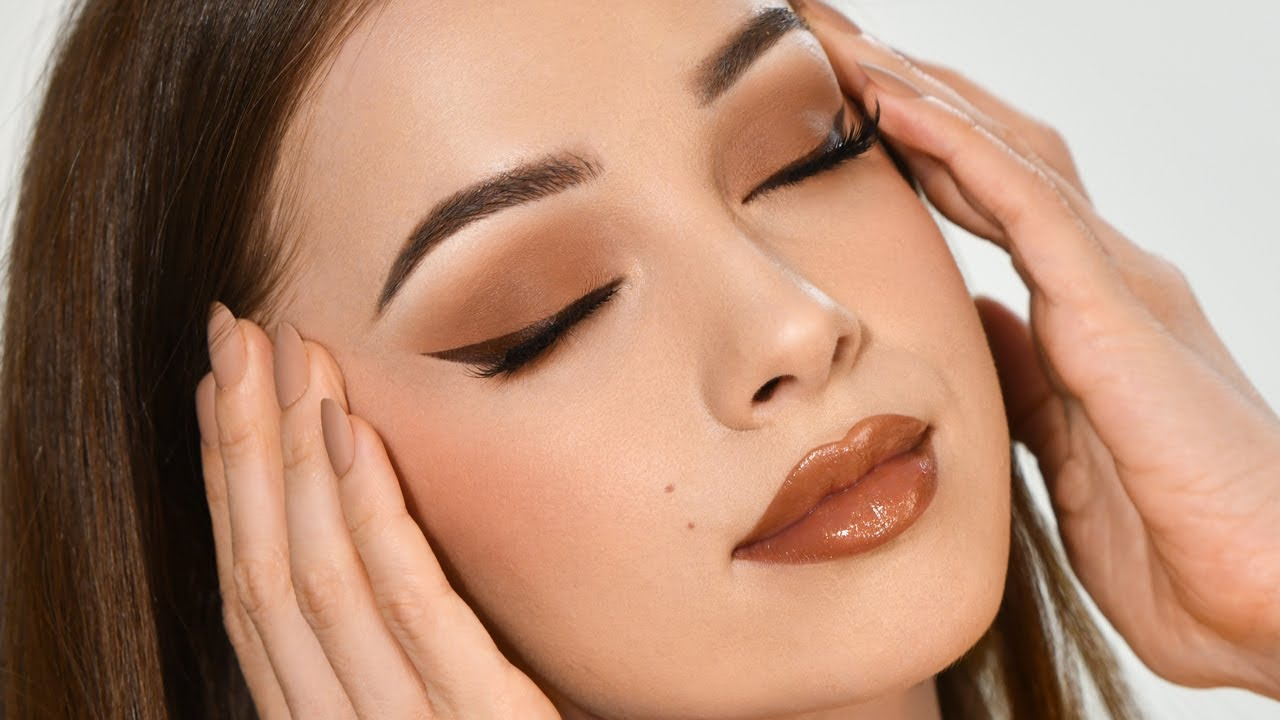 CARAMEL Makeup Tutorial | Fall Inspired Smokey Eye