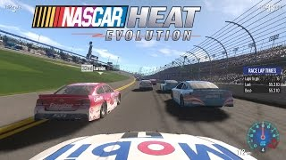 Nascar Heat Evolution Gameplay (Xbox One) - All Drivers and Cars + Tony Stewart 8 Laps at Daytona