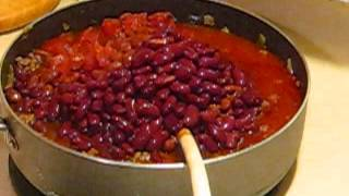 ITALIAN SAUSAGE CHILI WITH BEANS