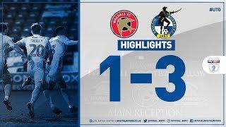 Match Highlights: Walsall 1-3 Bristol Rovers