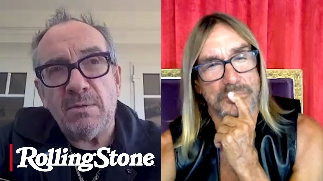 Iggy Pop and Elvis Costello Talk Early Tours, New Records, Punk | Musicians on Musicians