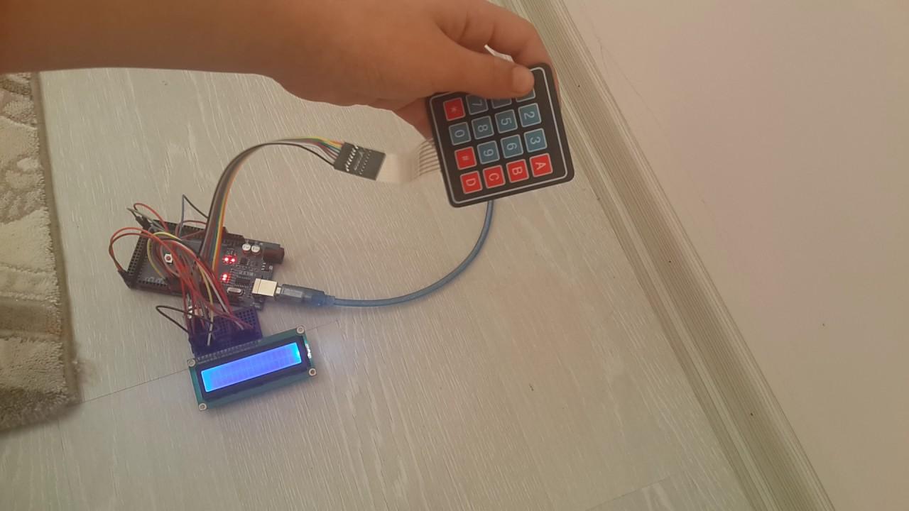 Arduino Programlama ile Hesap Makinesi Yapımı