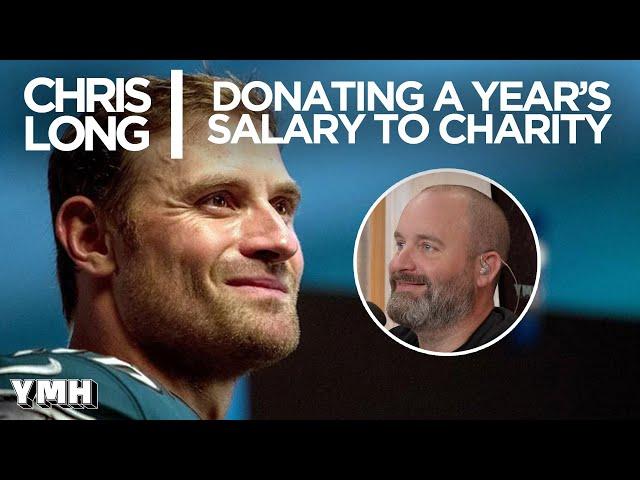 Chris Long Donates A Year's Salary to Charity - Tom Talks Highlight