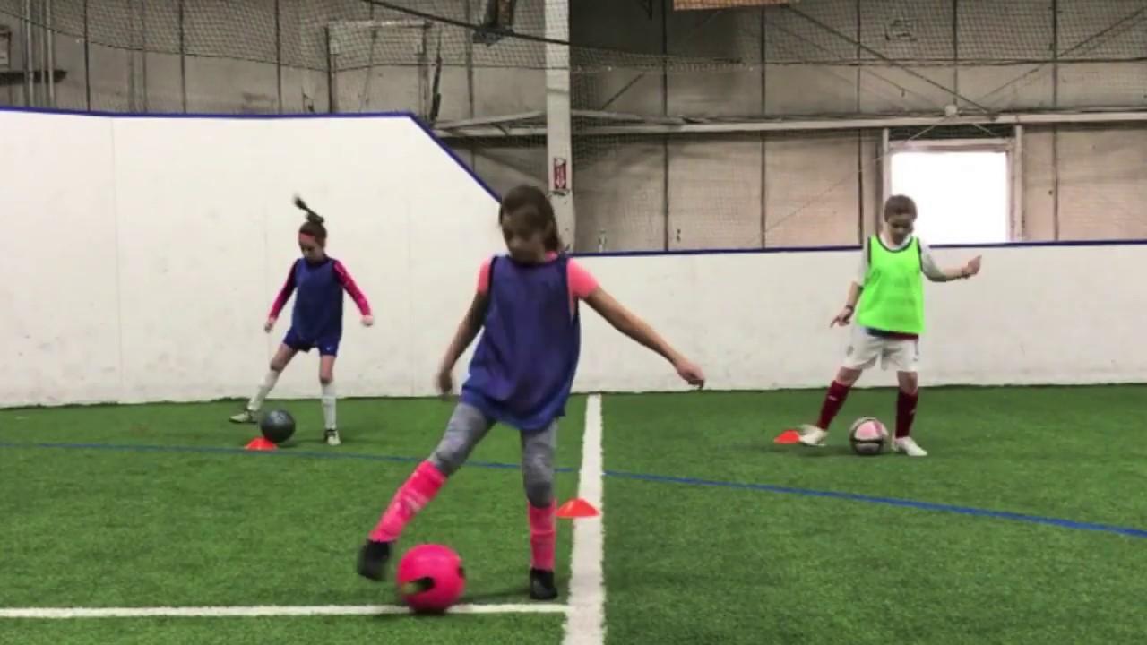 Youth Soccer U10 Footwork Drills