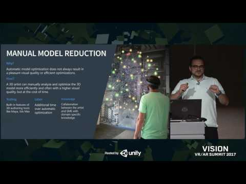 Vision 2017 - Massive Mixed Reality - Leveraging Large 3D Models with Mobile XR