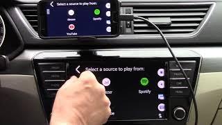 Huawei + Yandex Navigator + Full MirrorLink - Floating Apps for Auto !! screenshot 4