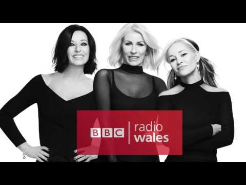 Bananarama - BBC Radio Wales Eleri Sion (24/4/2017)