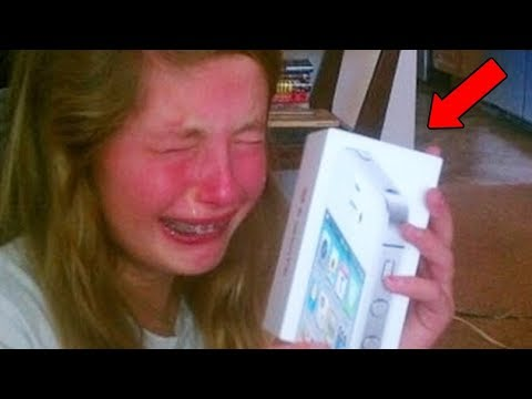 10 Spoiled Kids Reacting To Christmas Presents