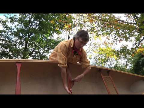 Happy Camper - how to portage a canoe