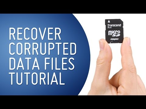 How To Recover Images From A Corrupted SD Card