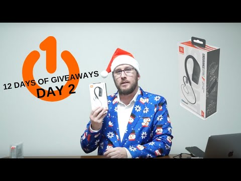 JBL Endurance Sprint Bluetooth Earbuds Unbox and Review - 12 Days of Giveaways - Day 2!