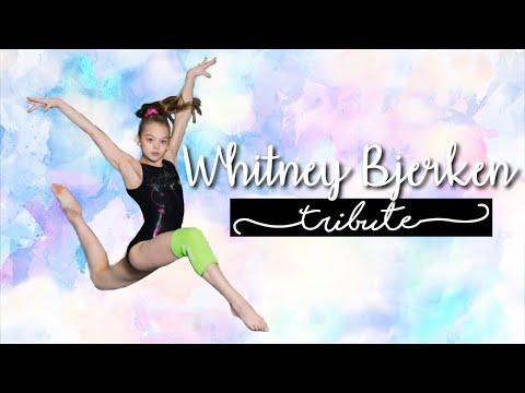 Whitney Bjerken Tribute   Amazing Gymnast   Whitney Bjerken   by April Bradley