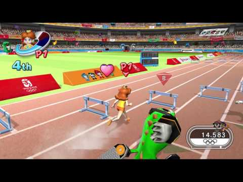 Mario & Sonic at the Olympic Games (Wii) All Events Gold Med