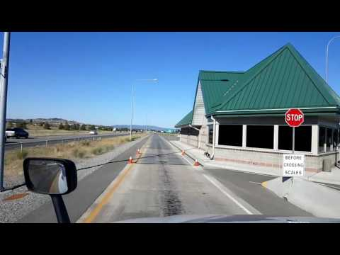 Bigrigtravels Live! Post Falls,  Idaho to Pasco, Washington US Highway 395 July 21, 2016