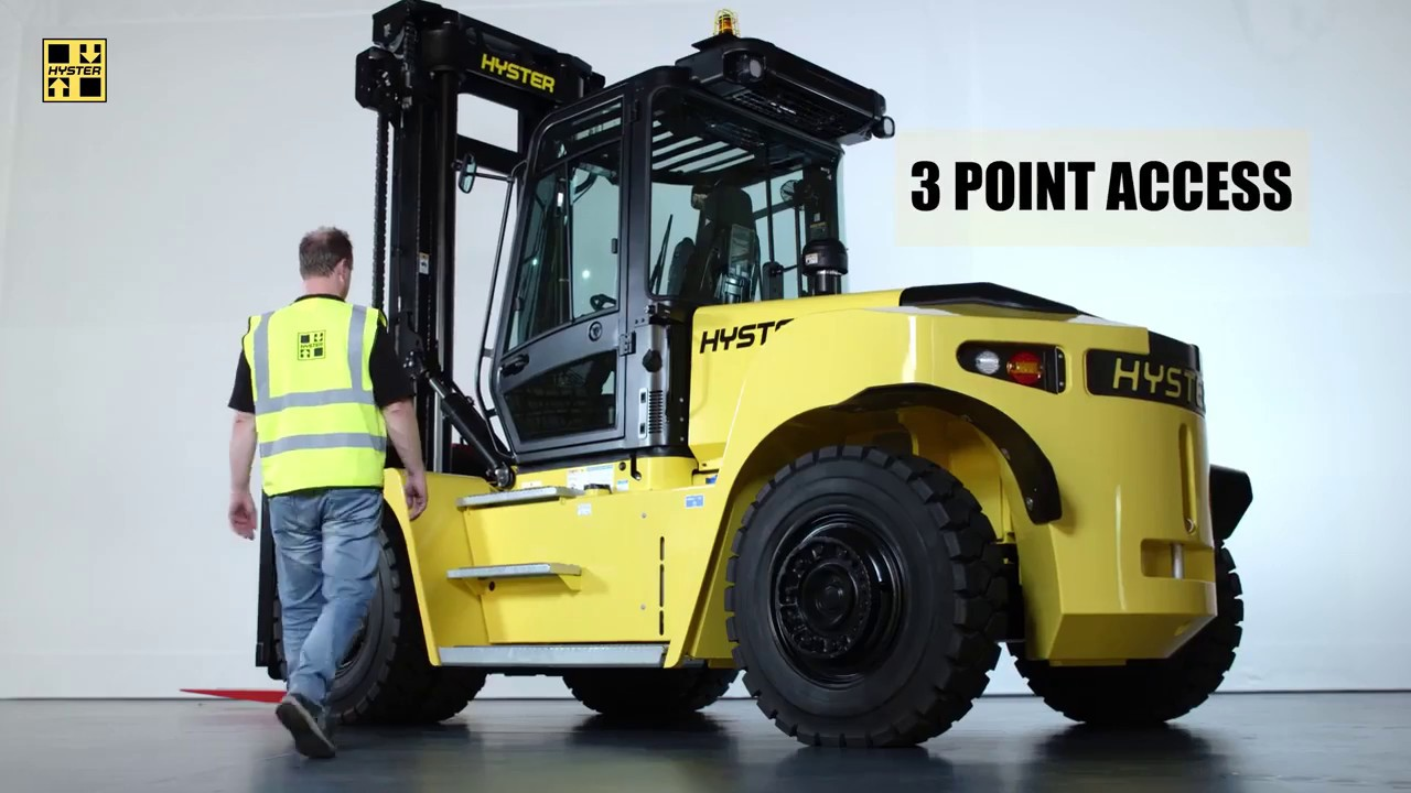 Big Forklifts: 8-16 Tonnes, H8 00–16 00XM–6 Series
