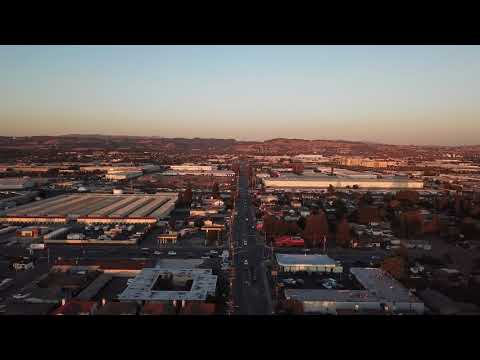 4k Mavic flight of San Leandro CA