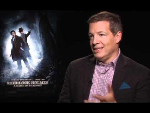 Sherlock Holmes Game of Shadows Press Interview ~ Lionel Wigram