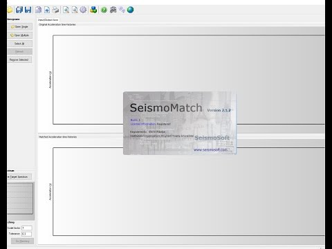 CEEN 545 - Supplemental Lecture - Spectral Matching with SeismoMatch