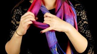 Если ТАК завязывать шарф на шее, комплиментам не будет конца.