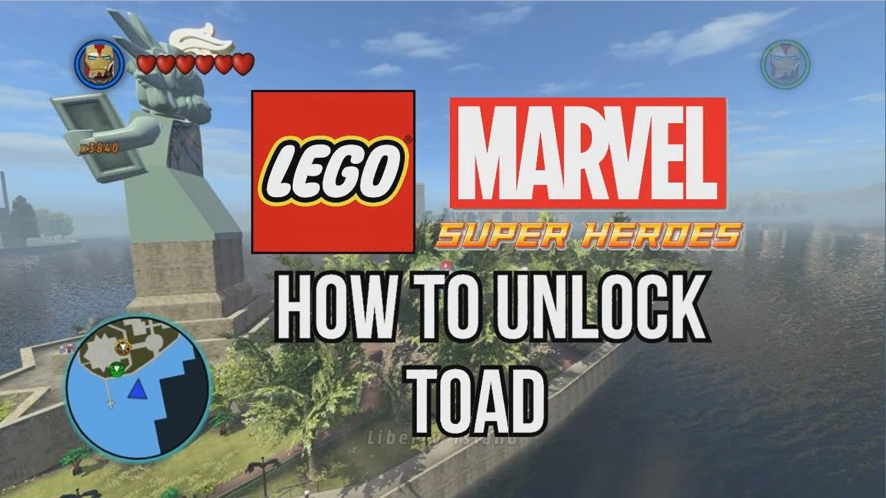How to Unlock Toad - LEGO Marvel Super Heroes - YouTube