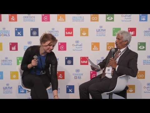 Migration & SDGs: Gervais Appave, IOM & Odessa Primus, EDD Young Leader