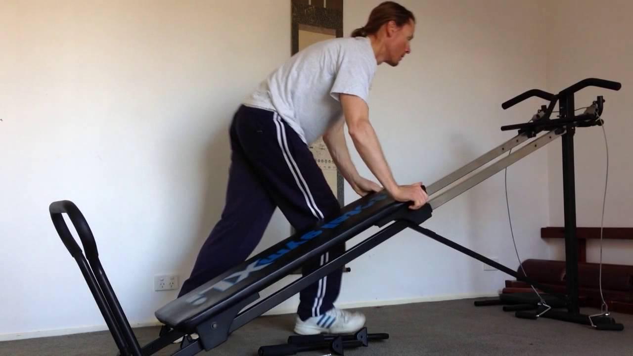 Chuck Norris Total Gym XLi demo - YouTube