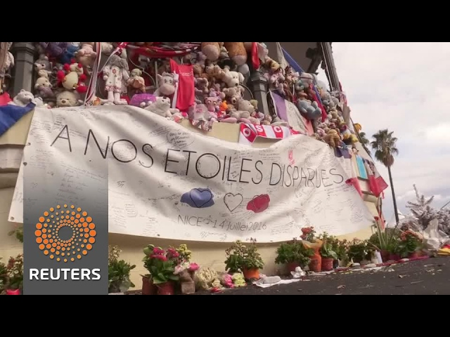 Nice memorials dismantled ahead of carnival, city's biggest event since attack