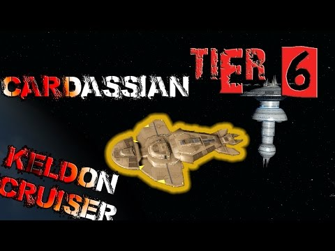 Cardassian Keldon Cruiser [T6] – with all ship visuals - Star Trek Online