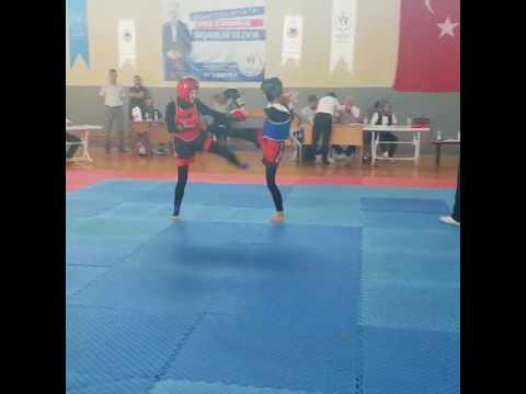 30.07.2017 Hatice ARSLAN Son Türkiye Kick Boks 3.sü - YouTube