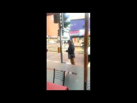 'Drunk' man fights lamppost in Belfast
