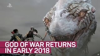 God of War returns in early 2018