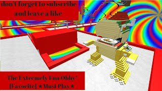 roblox/ The Extremely Fun Obby! [Favorite] ★Must Play★
