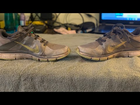 Cleaning My Running Shoes (Nike Free 5.0)
