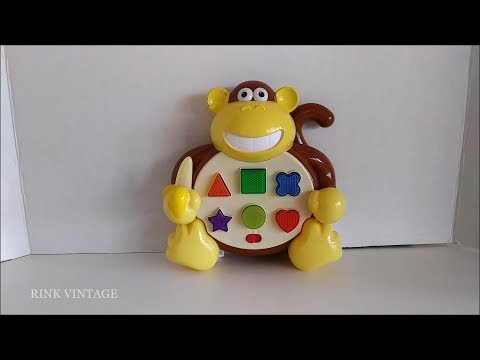 TOY DEMO: THE LEARNING JOURNEY COLORS & SHAPES TALKING MUSICAL MONKEY