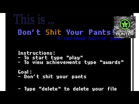 This is... Don't Shit Your Pants