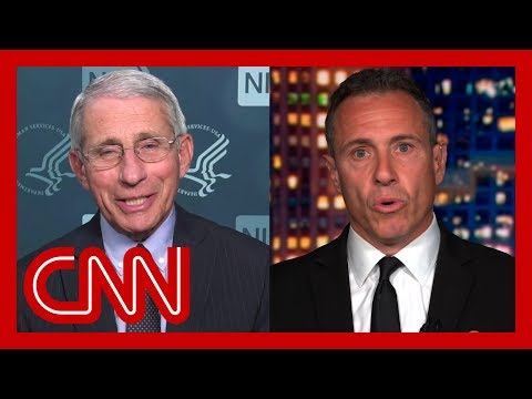 Dr. Fauci to Chris Cuomo: I don't think people realized how you were sucking it up