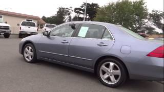 2007 Honda Accord Eureka, Redding, Humboldt County, Ukiah, North Coast, CA 7A000568