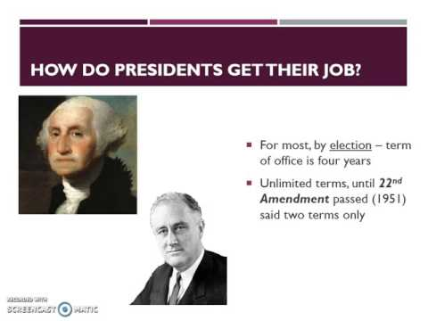 06  Presidents    Election, Succession, and Removal
