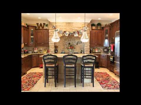 Best Decorating Ideas Above Kitchen Cabinets
