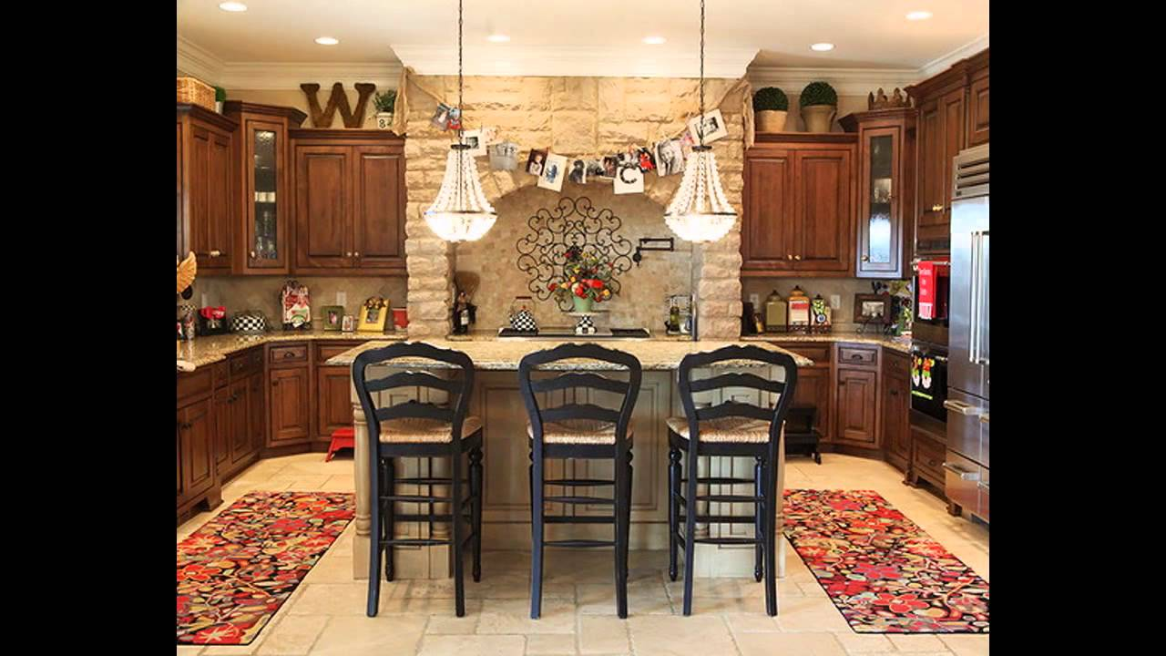 Best Decorating ideas above kitchen cabinets - YouTube