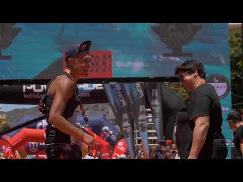 Vídeo de la Llegada del Campeón de la Transvulcania 2019.