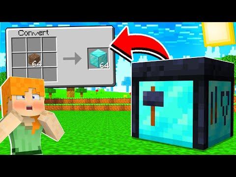 Minecraft But You Can Convert Blocks