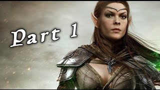 The Elder Scrolls Online Tamriel Unlimited PS4 - Gameplay Walkthrough Part 1 ( Xbox One, PS4 )