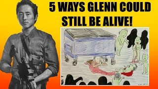 5 Ways Glenn Could Still Be Alive in The Walking Dead Season 6